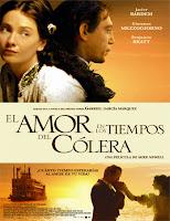 pelicula El amor en los tiempos del cólera (2007)